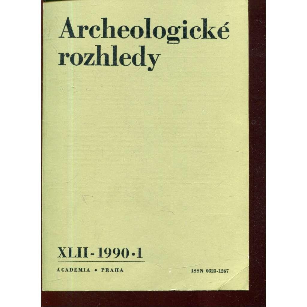 Archeologické rozhledy XLII - 1990, č. 1.