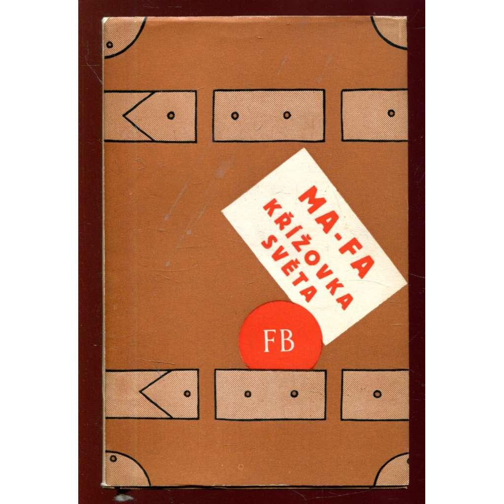 Křížovka světa (obálka Adolf Hoffmeister)