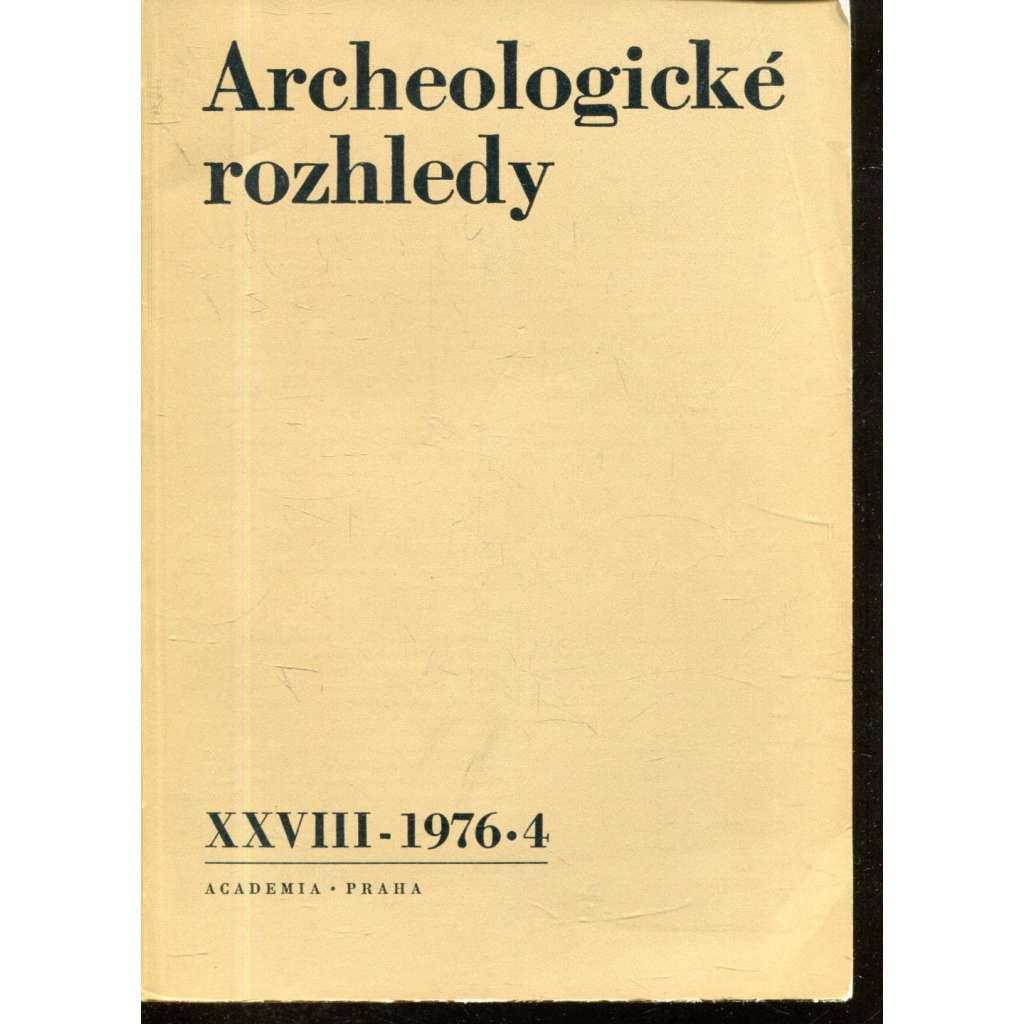Archeologické rozhledy XXVIII - 1976, č. 4.