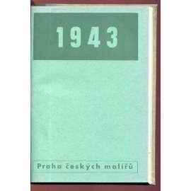 Praha českých malířů. Kalendář 1943 (Ladislav Sutnar)