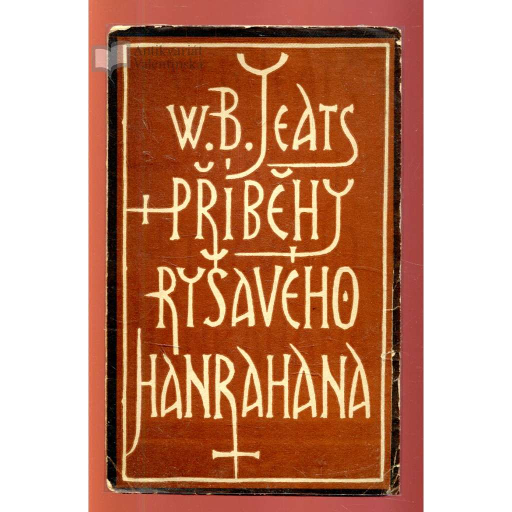 Příběhy ryšavého Hanrahana (obálka Josef Čapek)