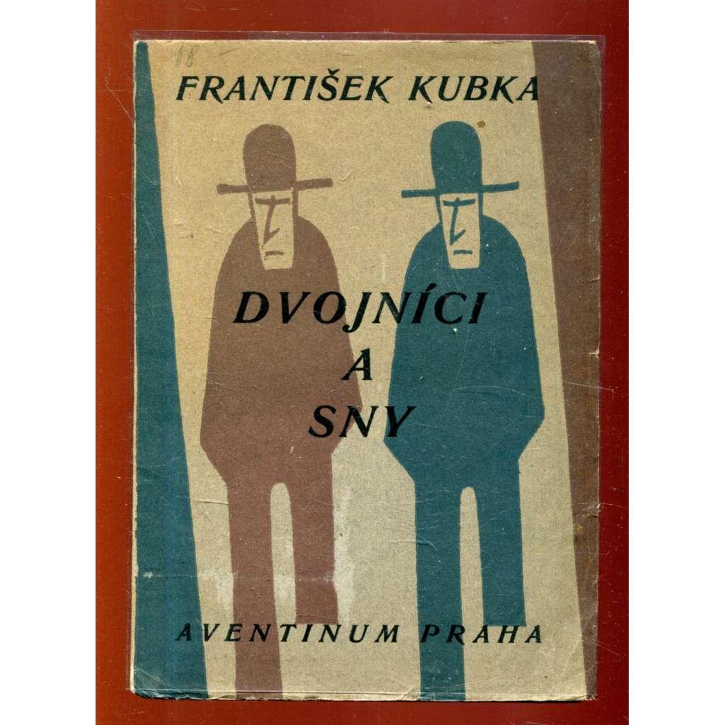 Dvojníci a sny (obálka Josef Čapek)