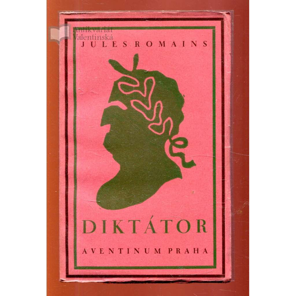 Diktátor (obálka Josef Čapek)