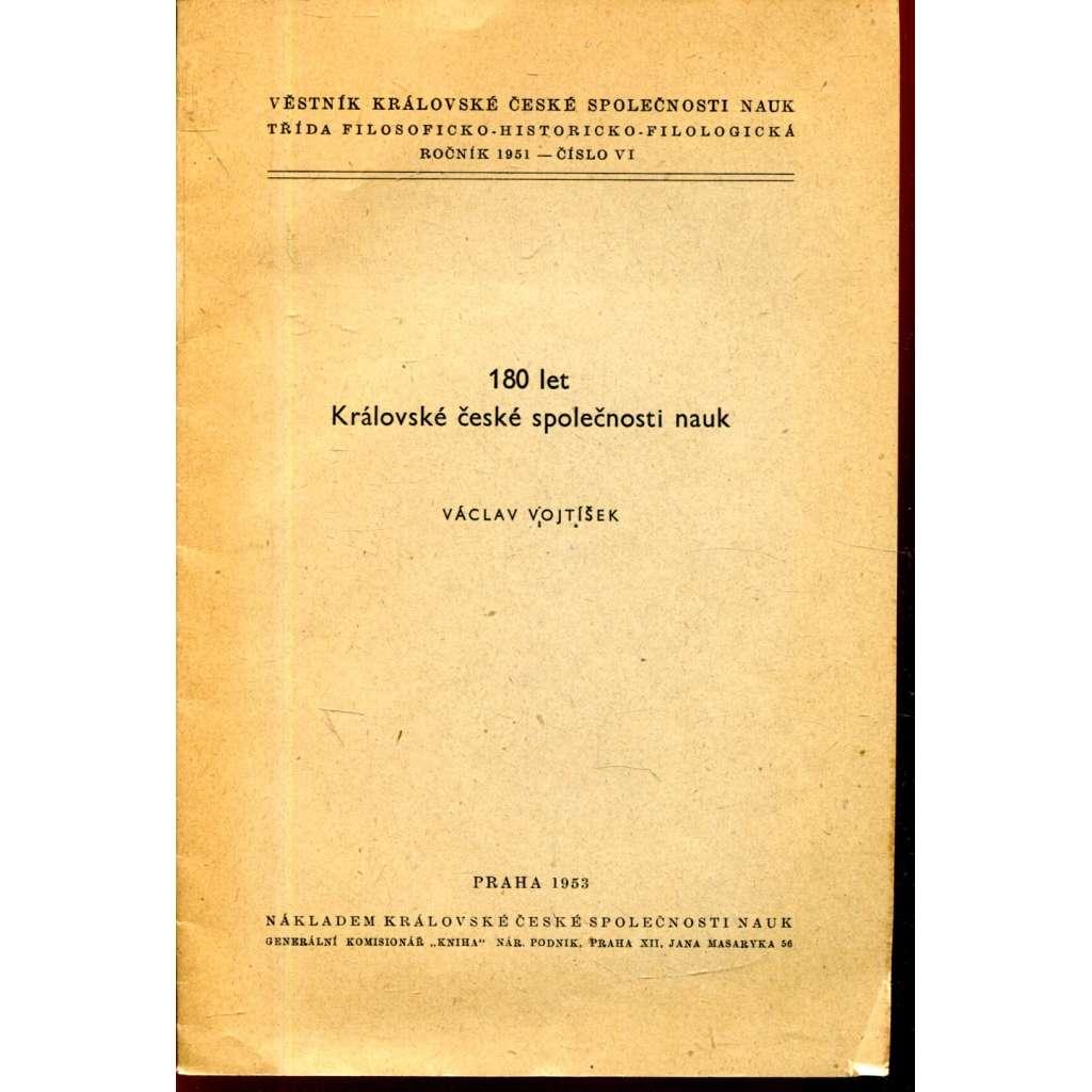 180 let Královské české společnosti nauk