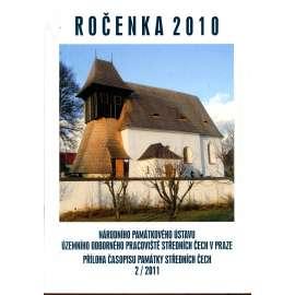 Památky středních Čech 25/2/2011 - příloha (Ročenka 2010)