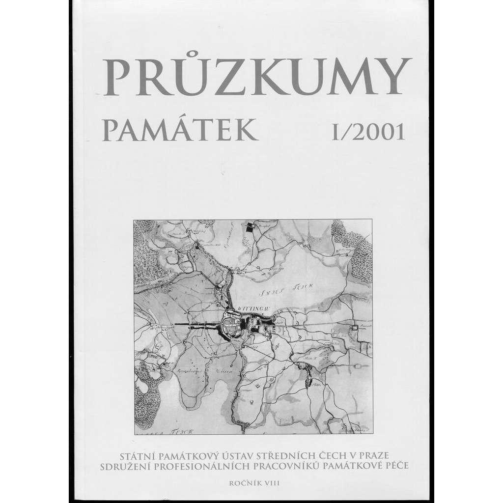 Průzkumy památek, roč. VIII. I/2001