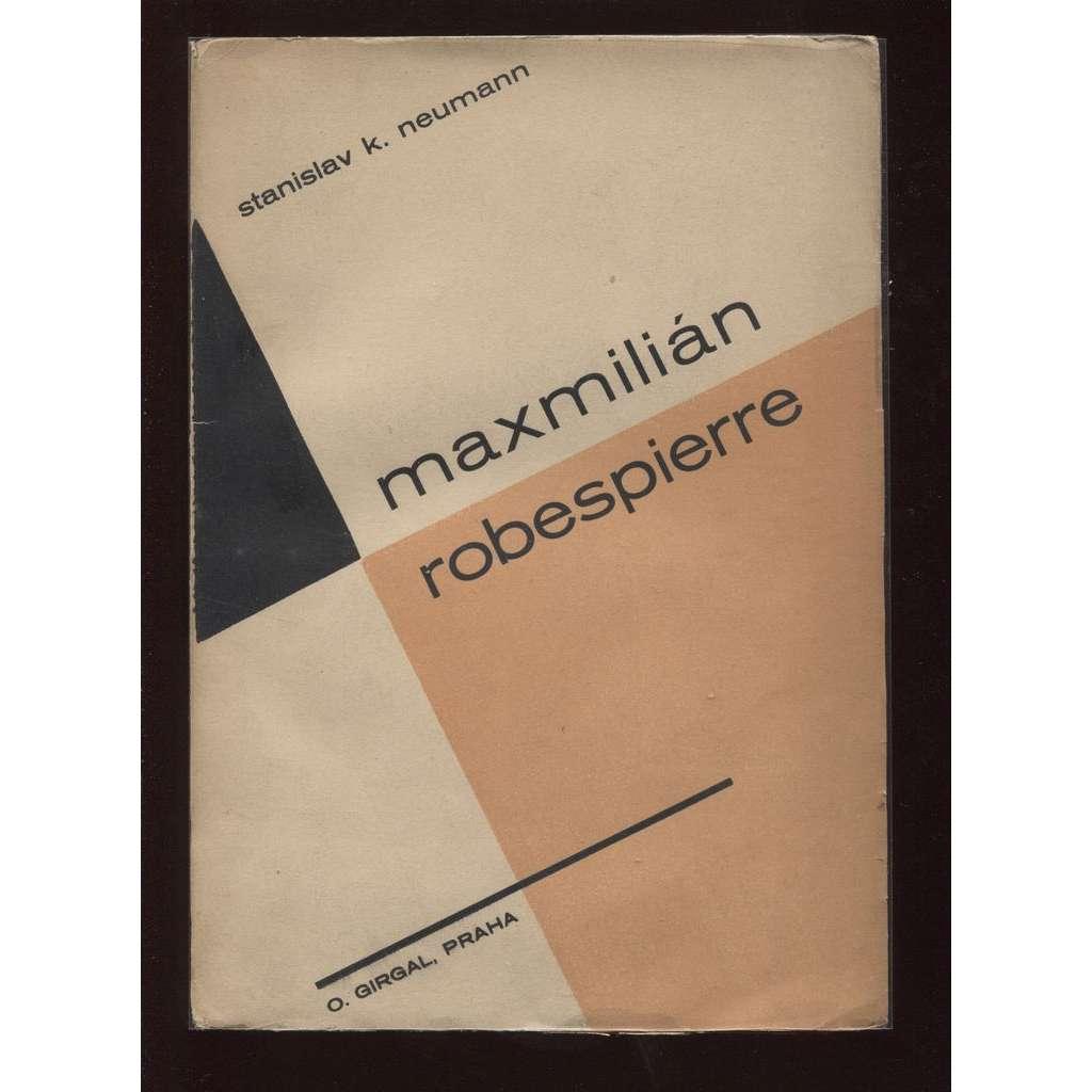 Maxmilián Robespierre (obálka Vít Obrtel)