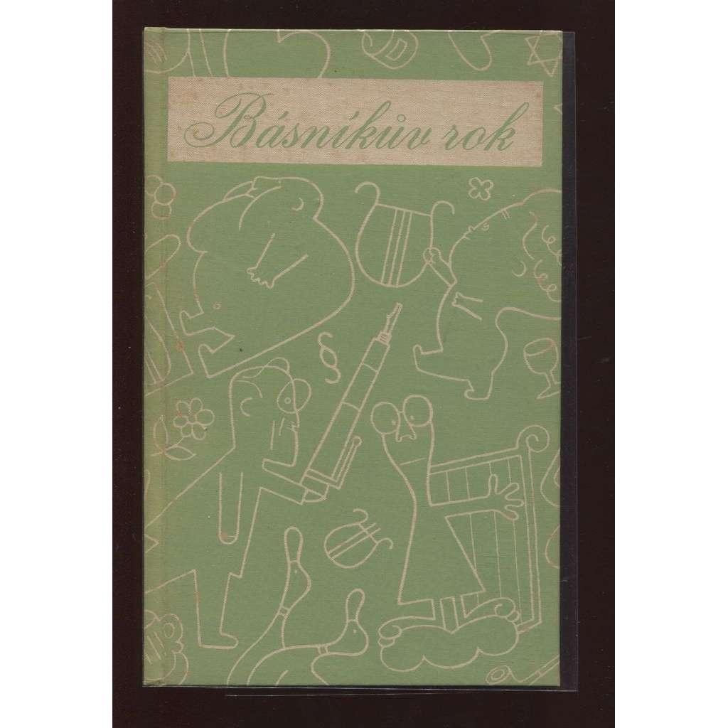 Básníkův rok 1935 - 1936 (upravil a vazbu navrhl Ladislav Sutnar)