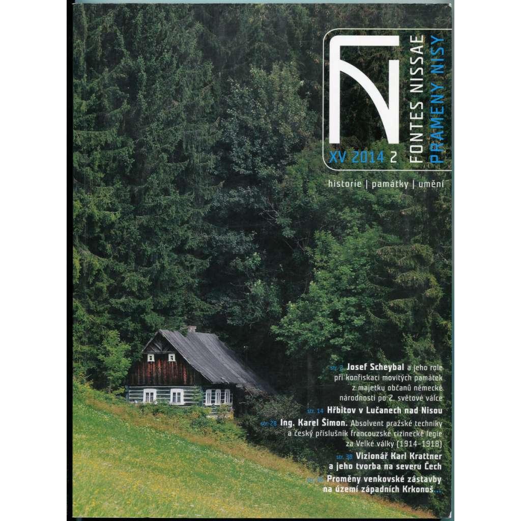 Fontes Nissae / Prameny Nisy. Historie, památky, umění. Ročník 15, č. 2, 2014