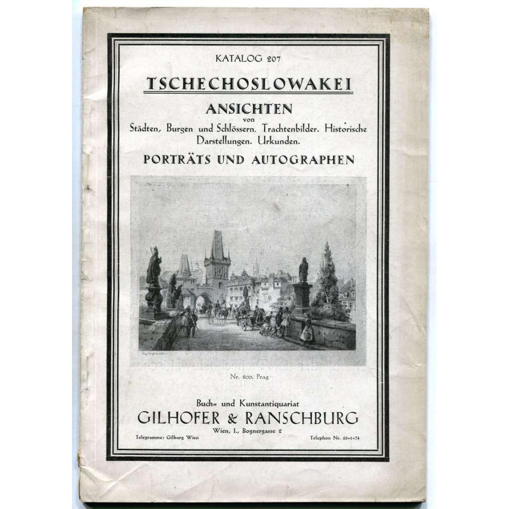 Gilhofer & Ranschburg, Wien:  Katalog 207: Tschechoslowakei