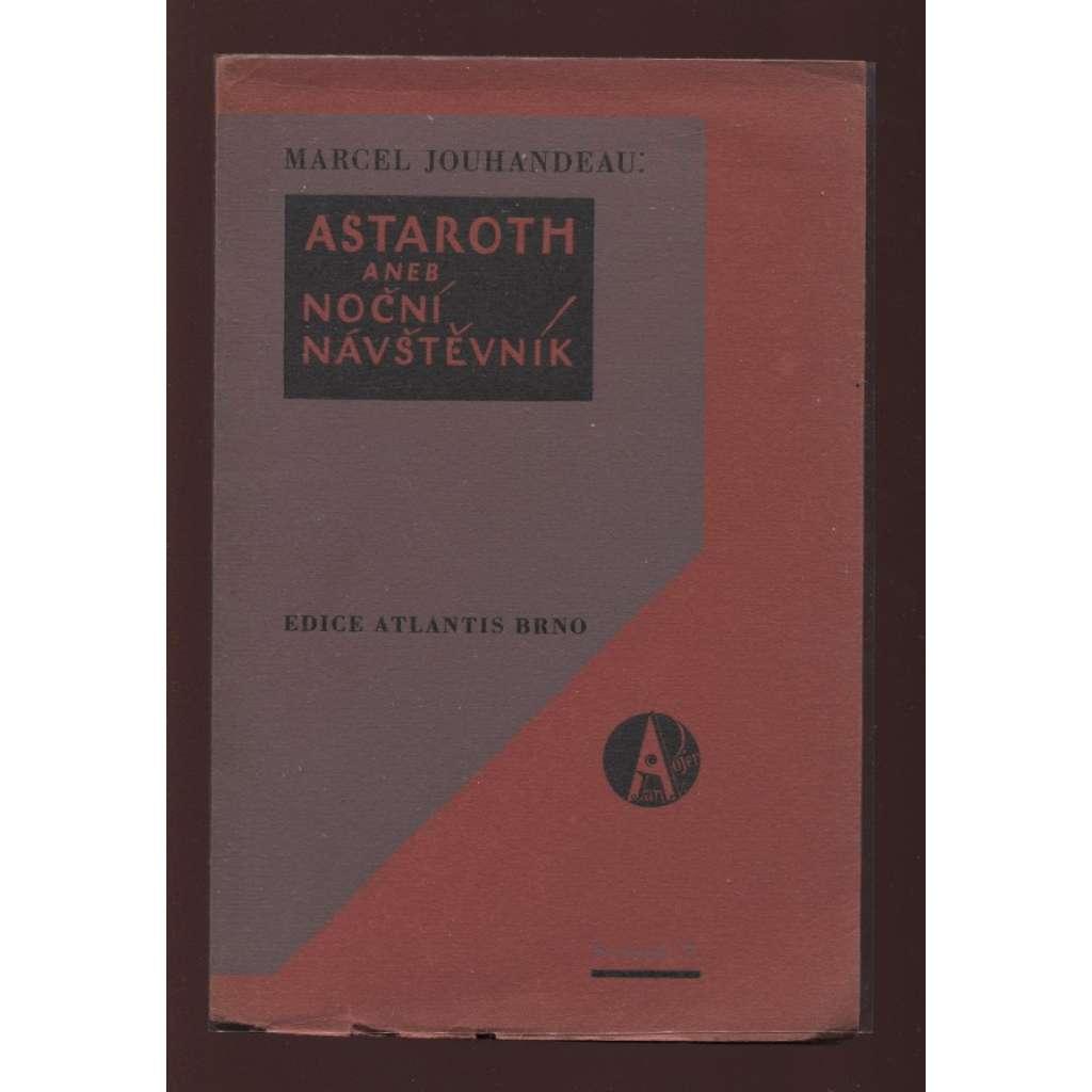 Astaroth aneb noční návštěvník (litografie Fr. Vik)