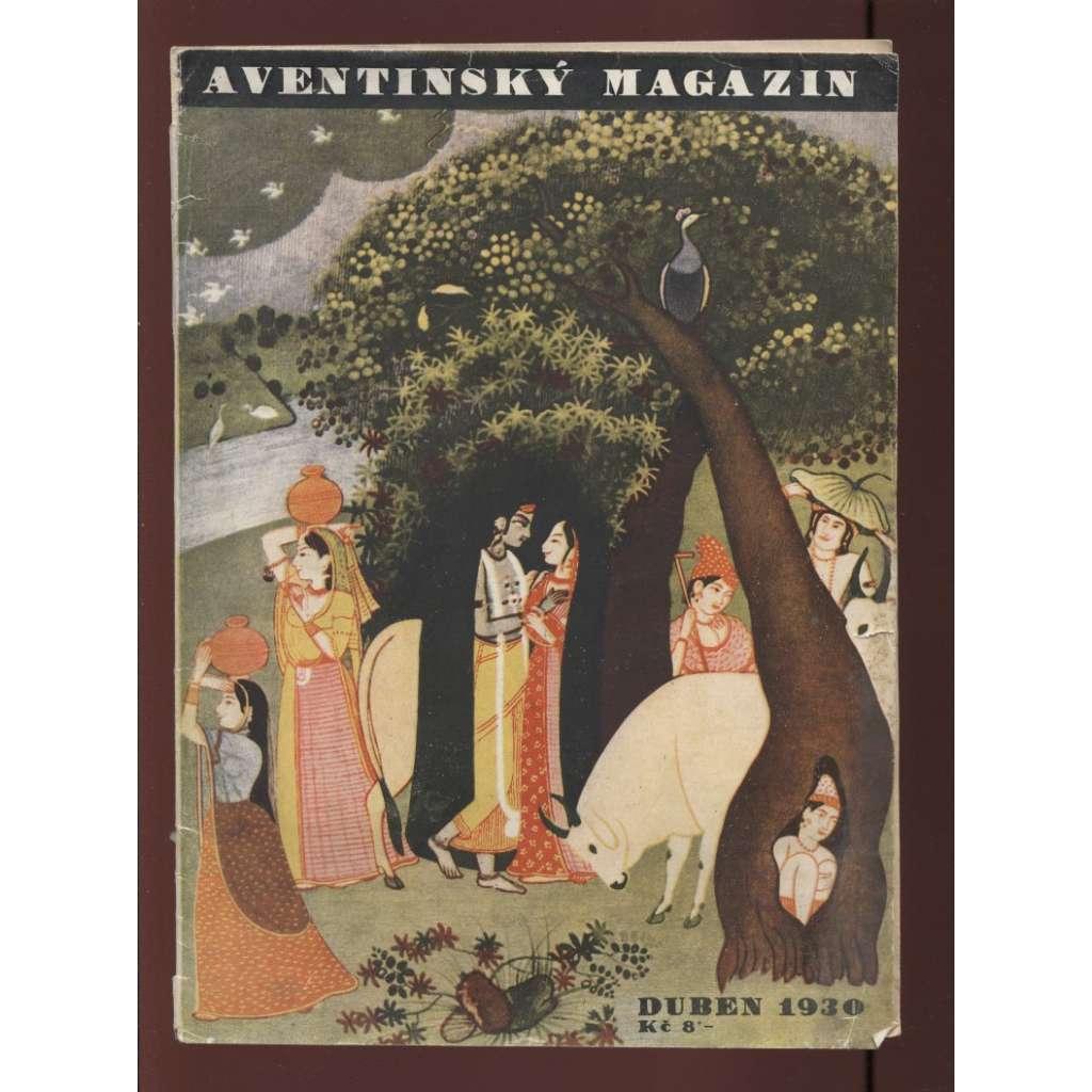 Aventinský magazin, duben 1930
