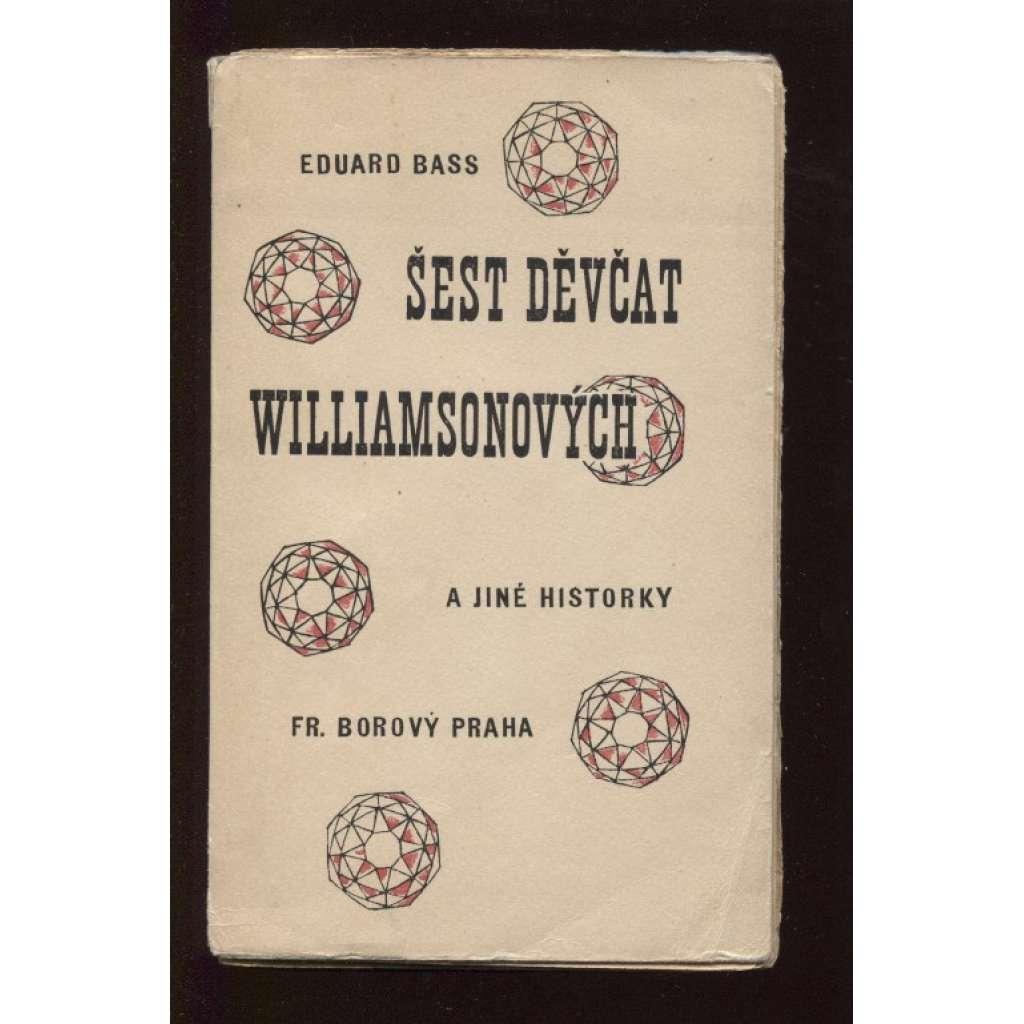 Šest děvčat Williamsonových a jiné historky (obálka Josef Čapek)