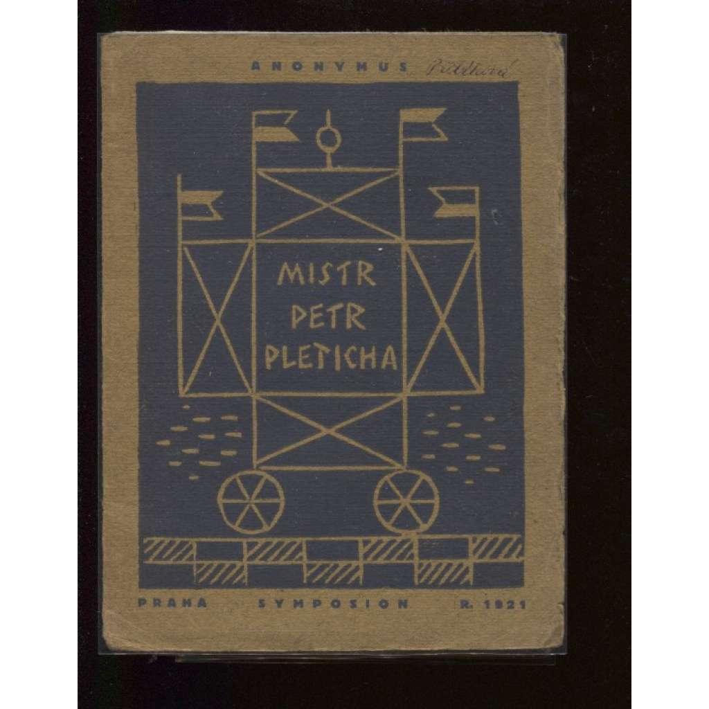 Mistr Petr Pleticha (obálka Josef Čapek)
