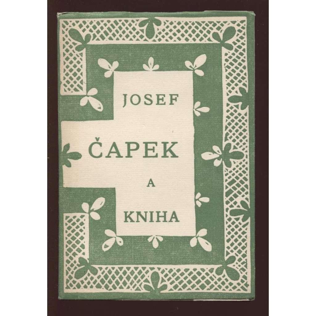Josef Čapek a kniha (obálka Josef Čapek)