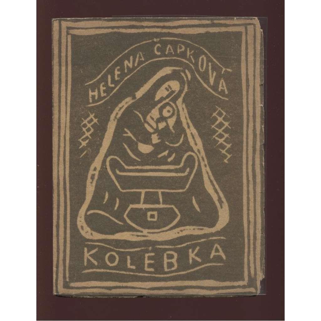 Kolébka (obálka Josef Čapek)