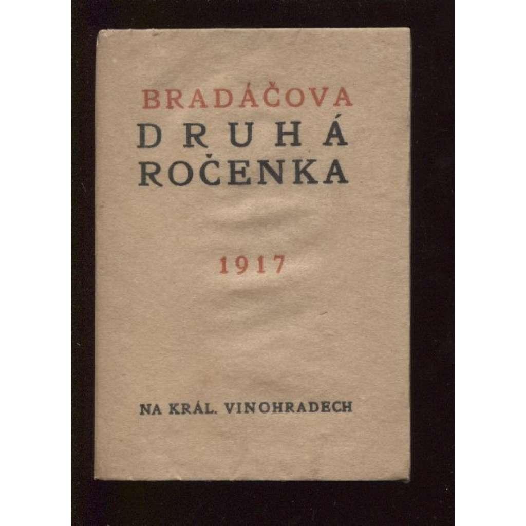 Bradáčova Druhá ročenka 1917 (bez přílohy)