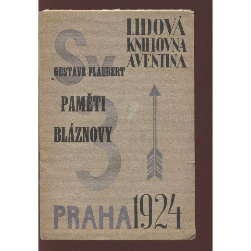 Paměti bláznovy (ed. Lidová knihovna Aventina)