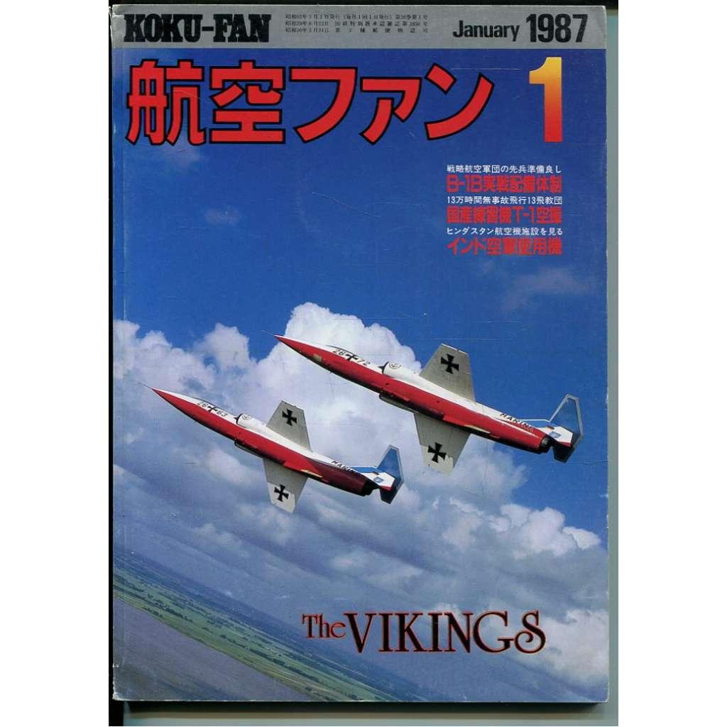 The Koku-Fan 1/1987, Vol. 36, No. 1 (letectví, letadla)