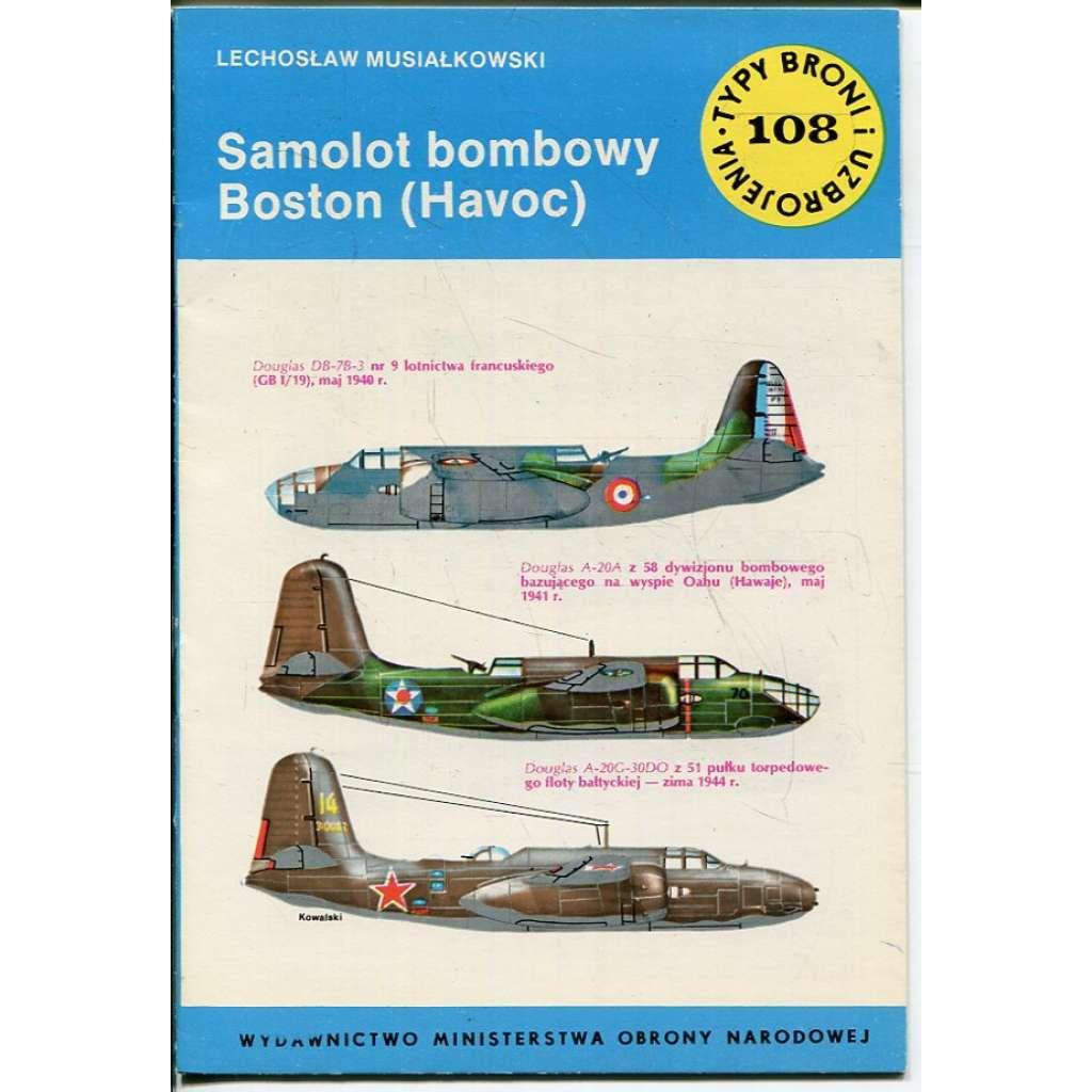 Samolot bombowy Boston (Havoc) (letadlo, letectvo)