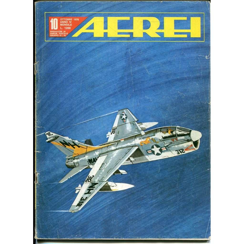 Aerei 10/1976 (letectví, letadla)