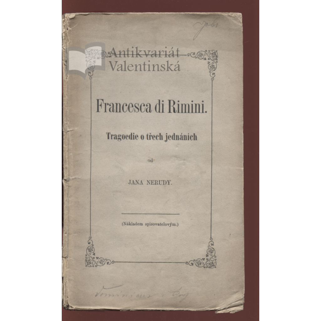 Francesca di Rimini (I. vydání)