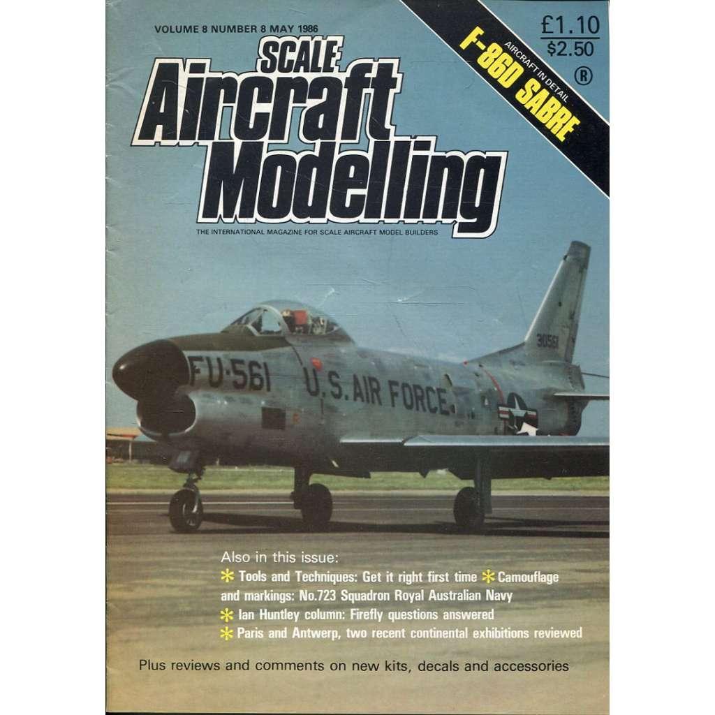 Scale Aircraft Modelling 5/1986, Vol. 8, No. 8 (letadla, modelářství)
