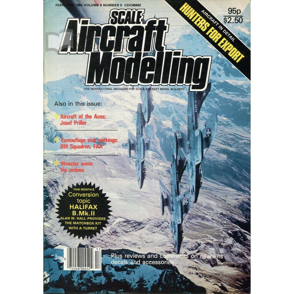 Scale Aircraft Modelling 2/1984, Vol. 6, No. 5 (letadla, modelářství)