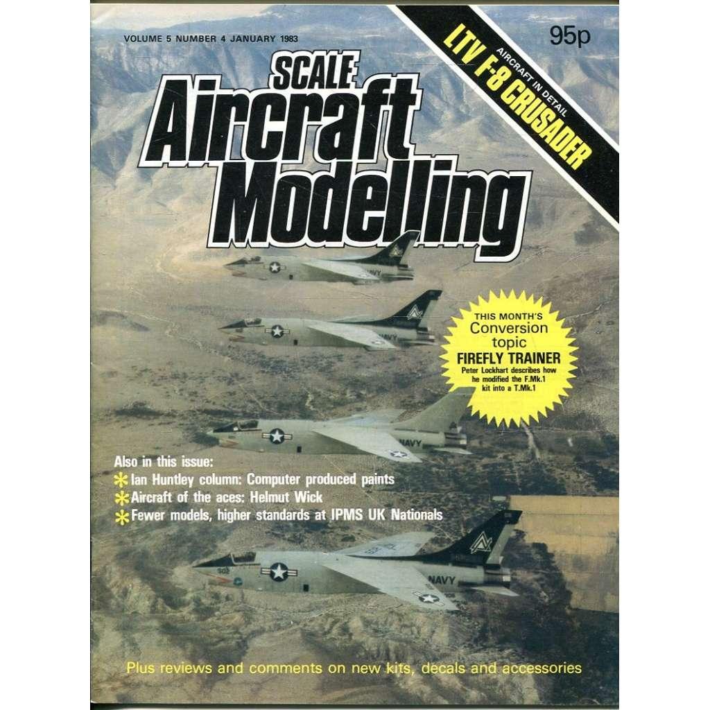 Scale Aircraft Modelling 1/1983, Vol. 5, No. 4 (letadla, modelářství)