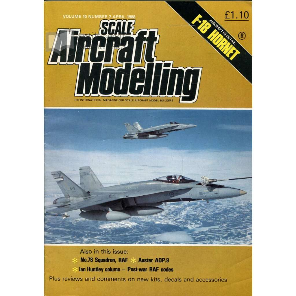 Scale Aircraft Modelling 4/1988, Vol. 10, No. 7 (letadla, modelářství)