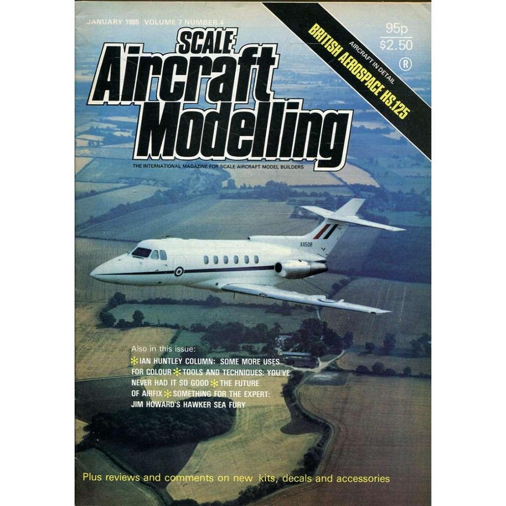 Scale Aircraft Modelling 1/1985, Vol. 7, No. 4 (letadla, modelářství)
