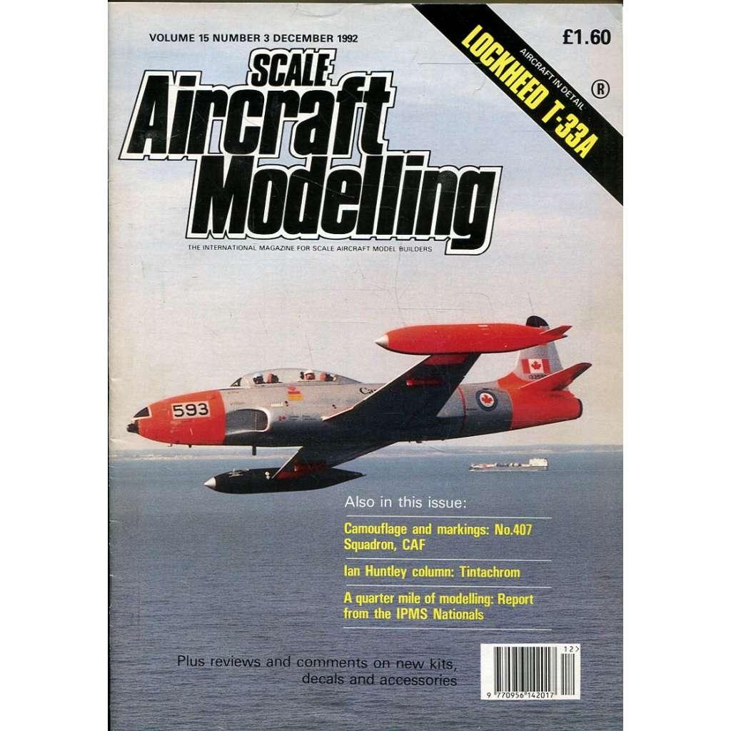 Scale Aircraft Modelling 12/1992, Vol. 15, No. 3 (letadla, modelářství)