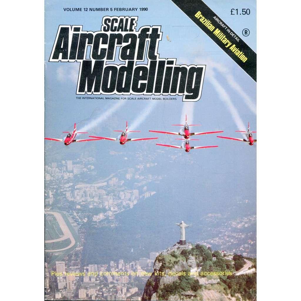 Scale Aircraft Modelling 2/1990, Vol. 12, No. 5 (letadla, modelářství)
