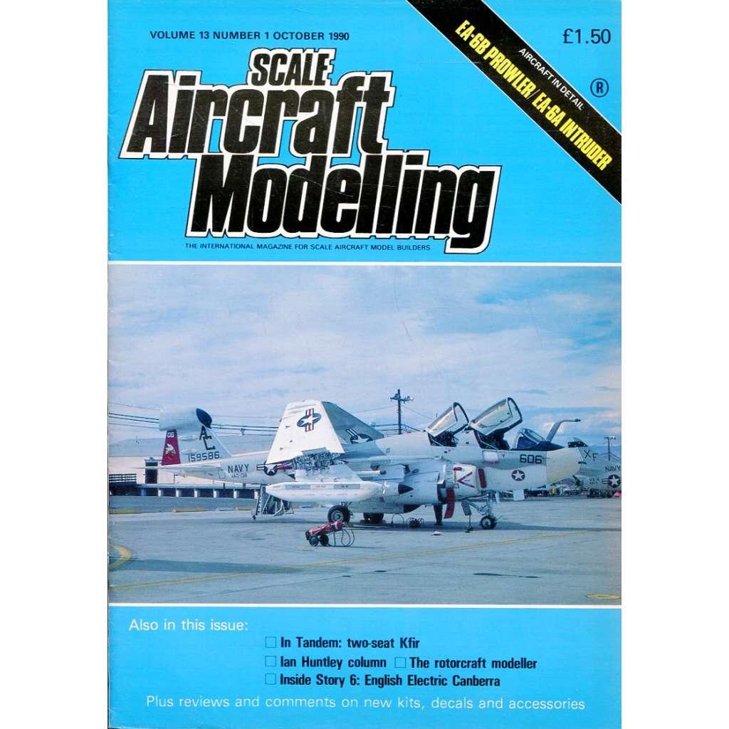 Scale Aircraft Modelling 10/1990, Vol. 13, No. 1 (letadla, modelářství)