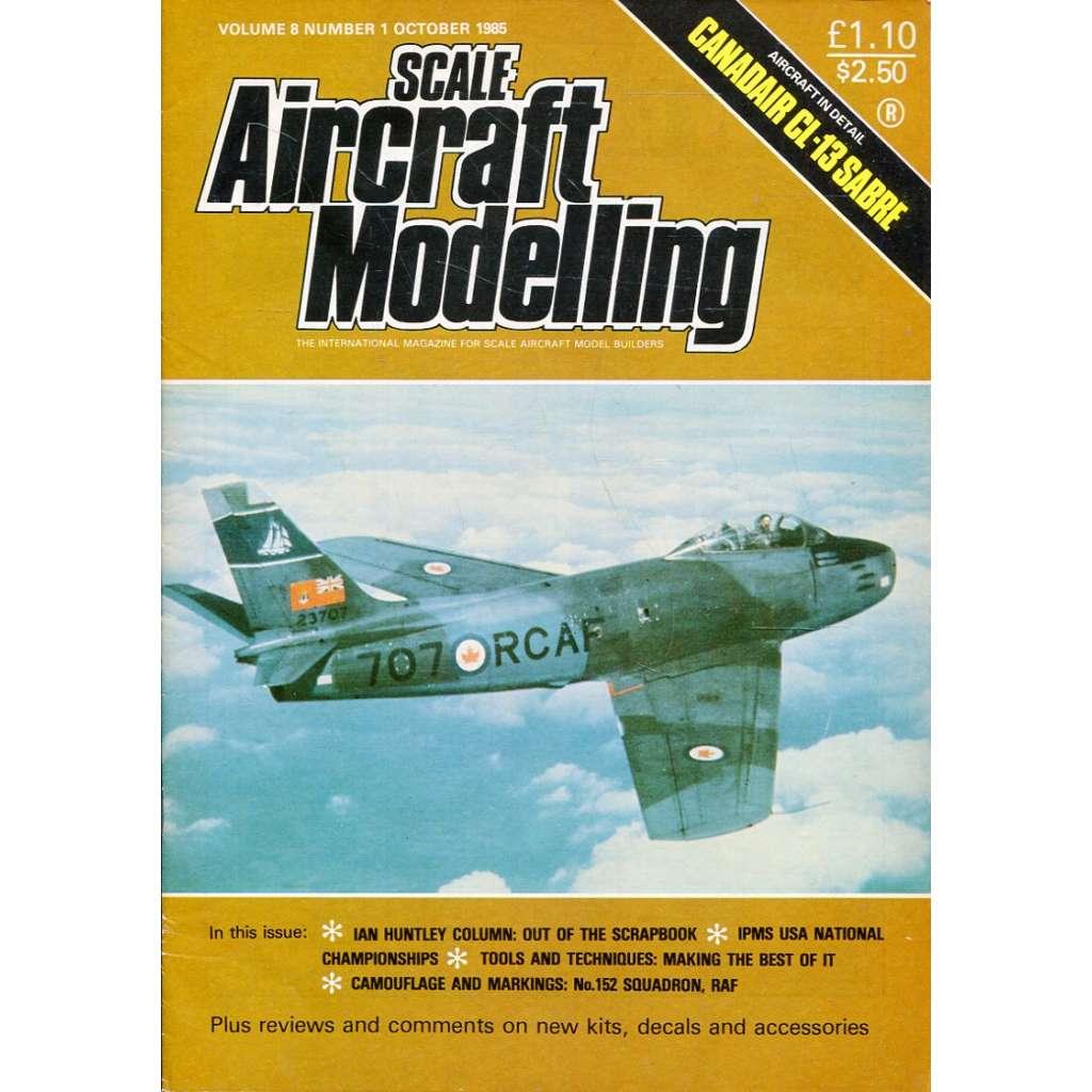 Scale Aircraft Modelling 10/1985, Vol. 8, No. 1 (letadla, modelářství)