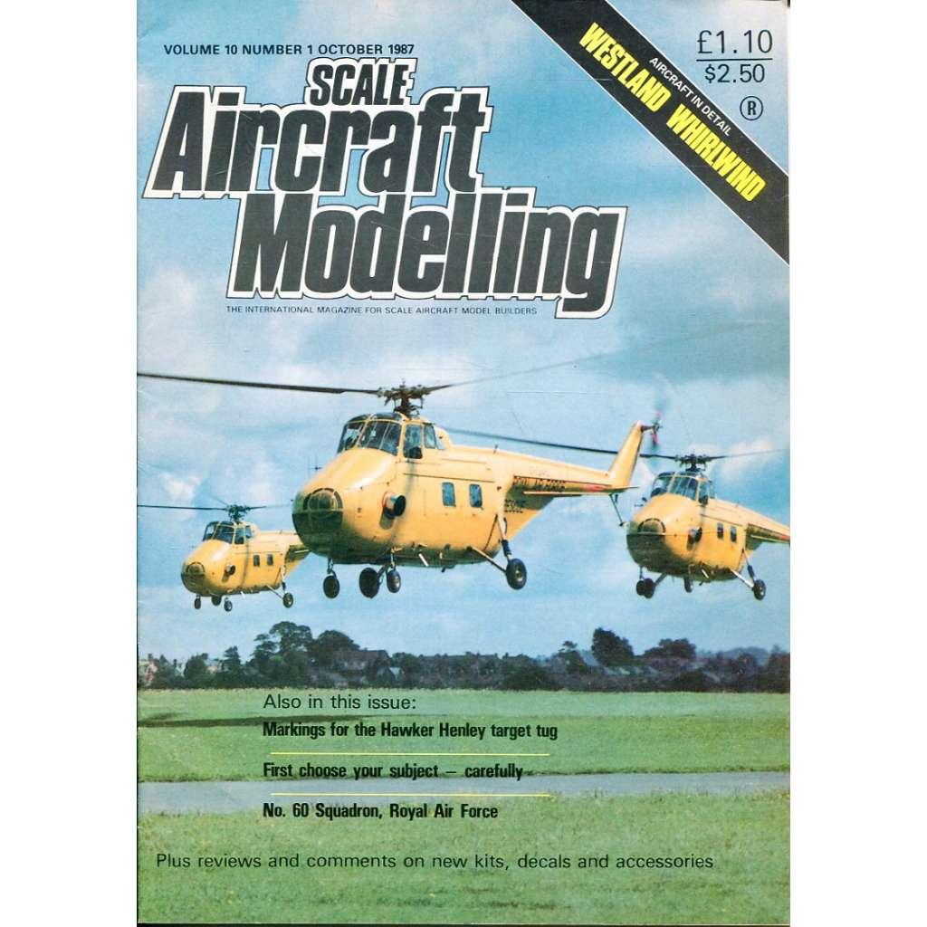 Scale Aircraft Modelling 10/1987, Vol. 10, No. 1 (letadla, modelářství)