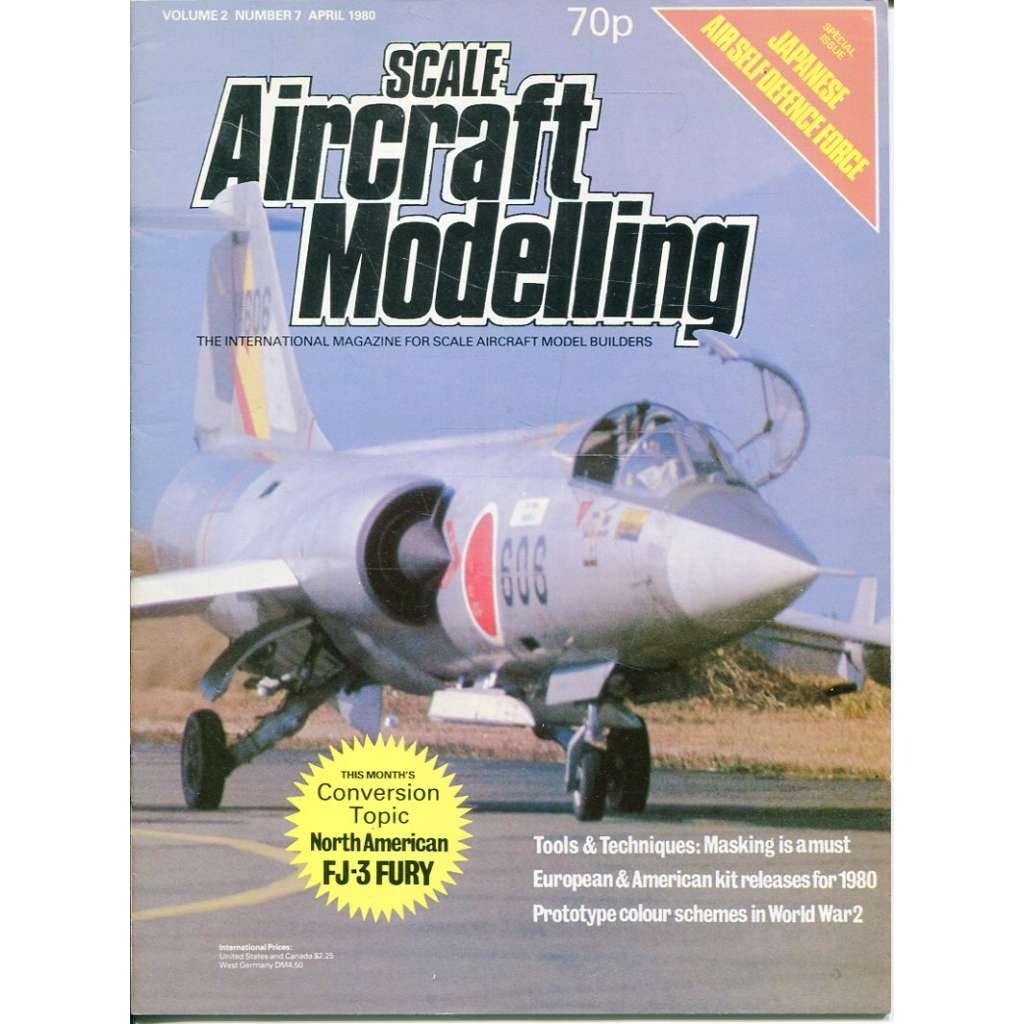 Scale Aircraft Modelling 4/1980, Vol. 2, No. 7 (letadla, modelářství)