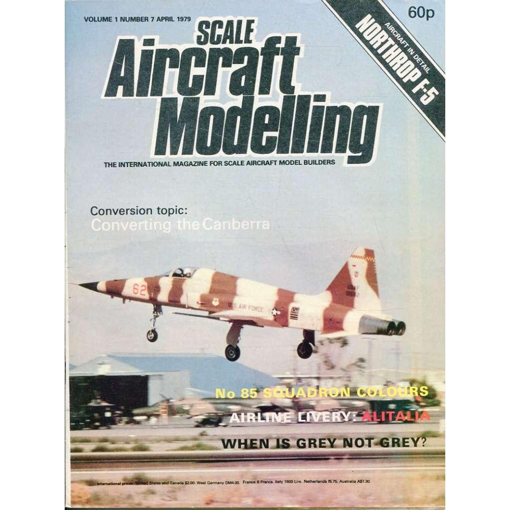 Scale Aircraft Modelling 4/1979, Vol. 1, No. 7 (letadla, modelářství)
