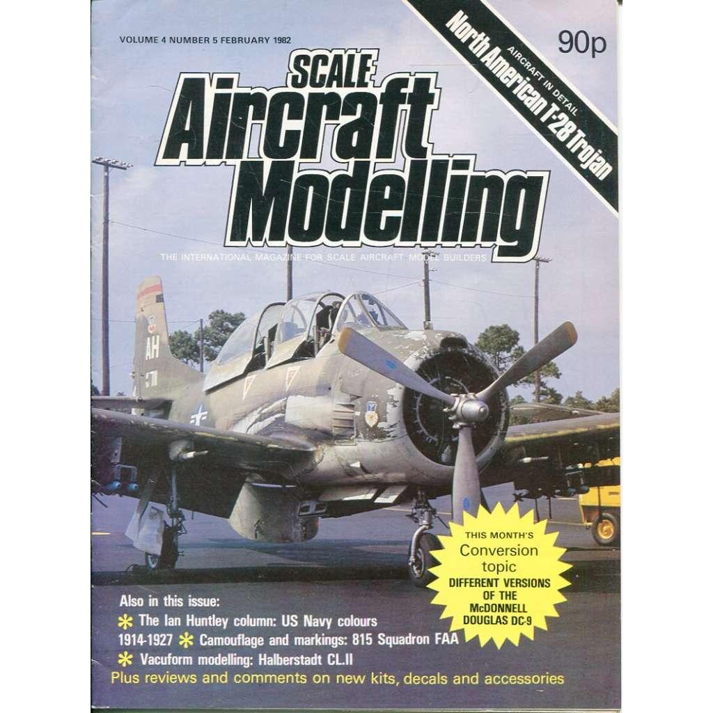 Scale Aircraft Modelling 2/1982, Vol. 4, No. 5 (letadla, modelářství)