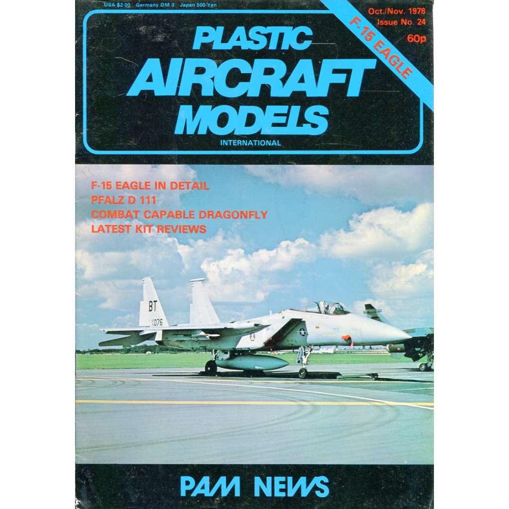 Plastic Aircraft Models No. 24, 1978 (letadla, modelářství)