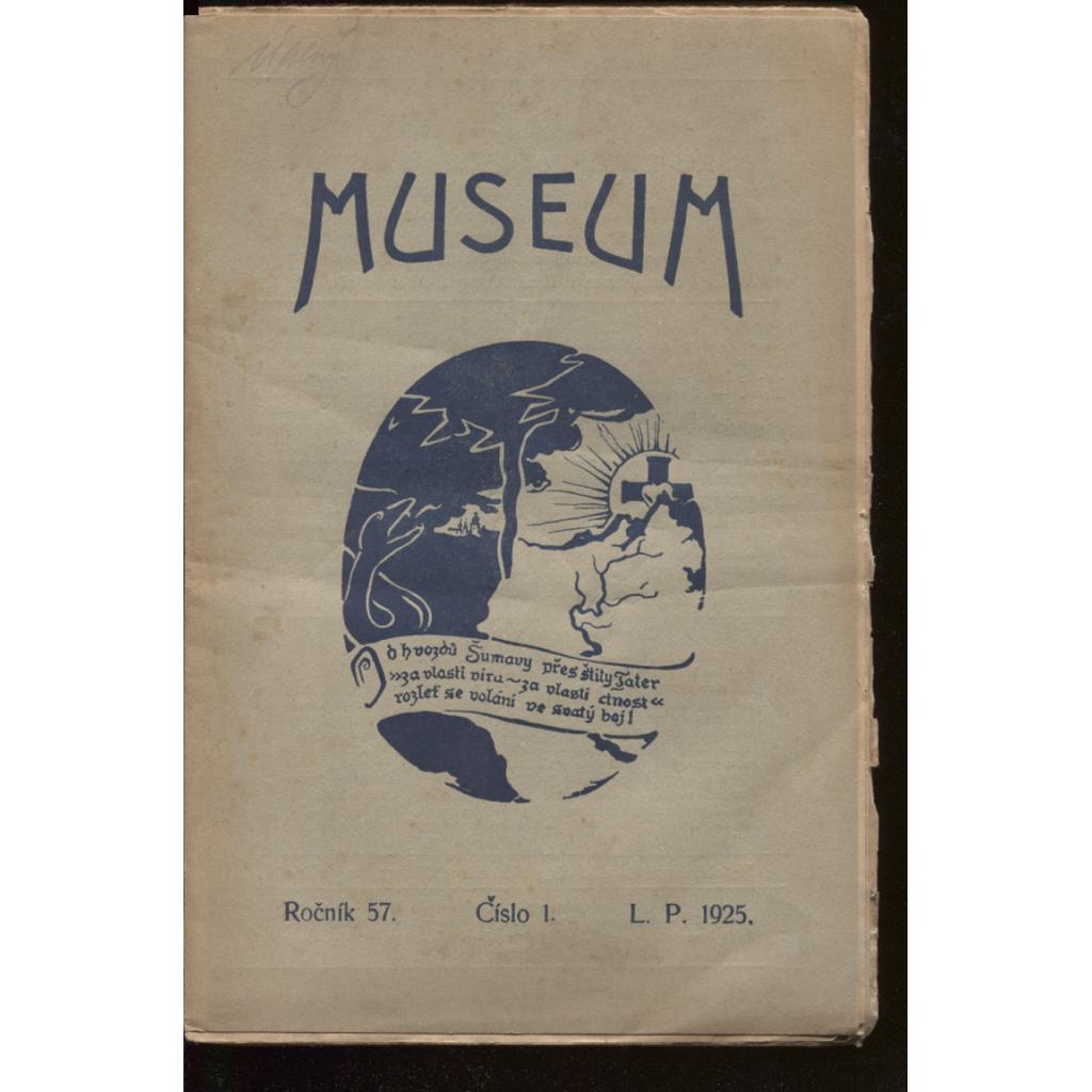 Museum, roč. 57, číslo 1.-5. 1925-1926 (celý ročník)