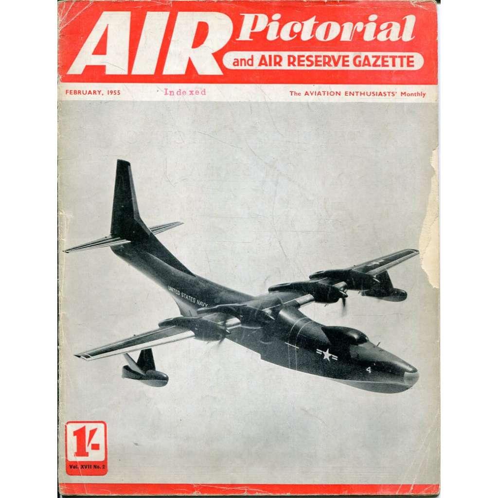 Air Pictorial 2/1955, Vol. 17, No. 2 (letadla, letectví)
