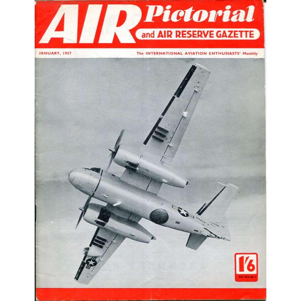 Air Pictorial 1/1957, Vol. 19, No. 1 (letadla, letectví)