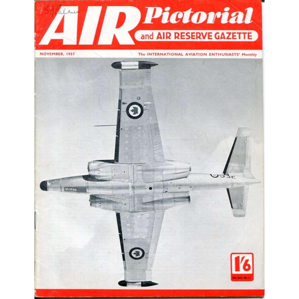 Air Pictorial 11/1957, Vol. 19, No. 11 (letadla, letectví)