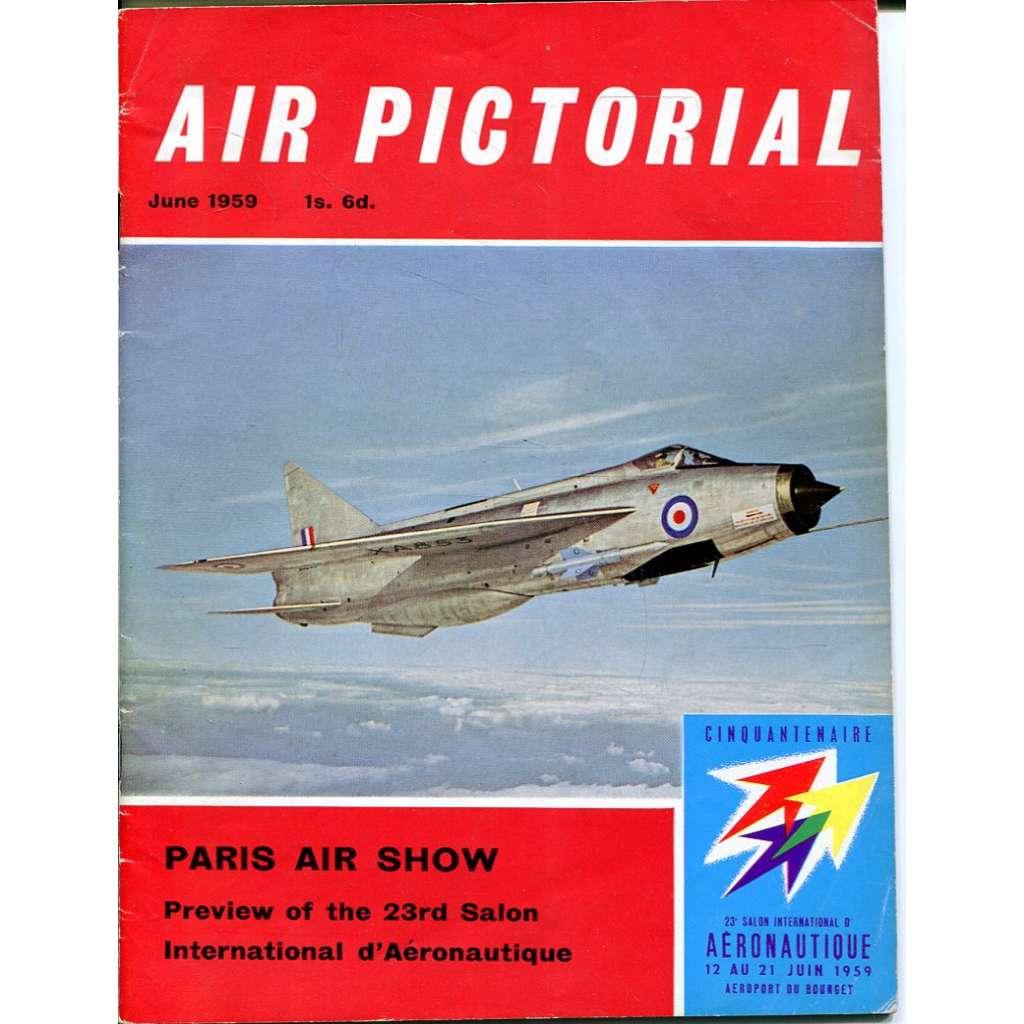 Air Pictorial 6/1959, Vol. 21, No. 6 (letadla, letectví)