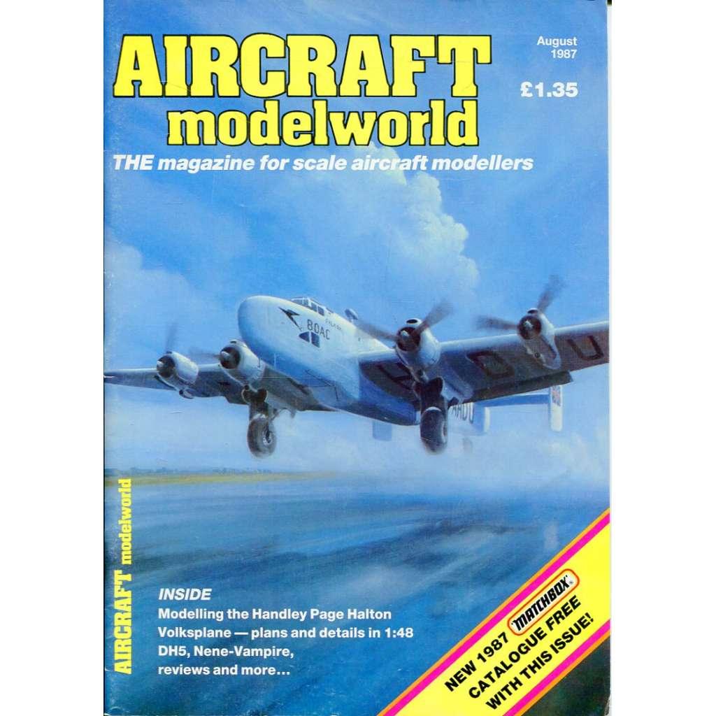 Aircraft Modelworld 7-8/1987, Vol. 4, No. 5 (letadla, modelářství)