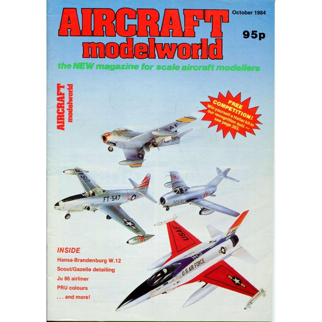 Aircraft Modelworld 10/1984, Vol. 1, No. 8 (letadla, modelářství)