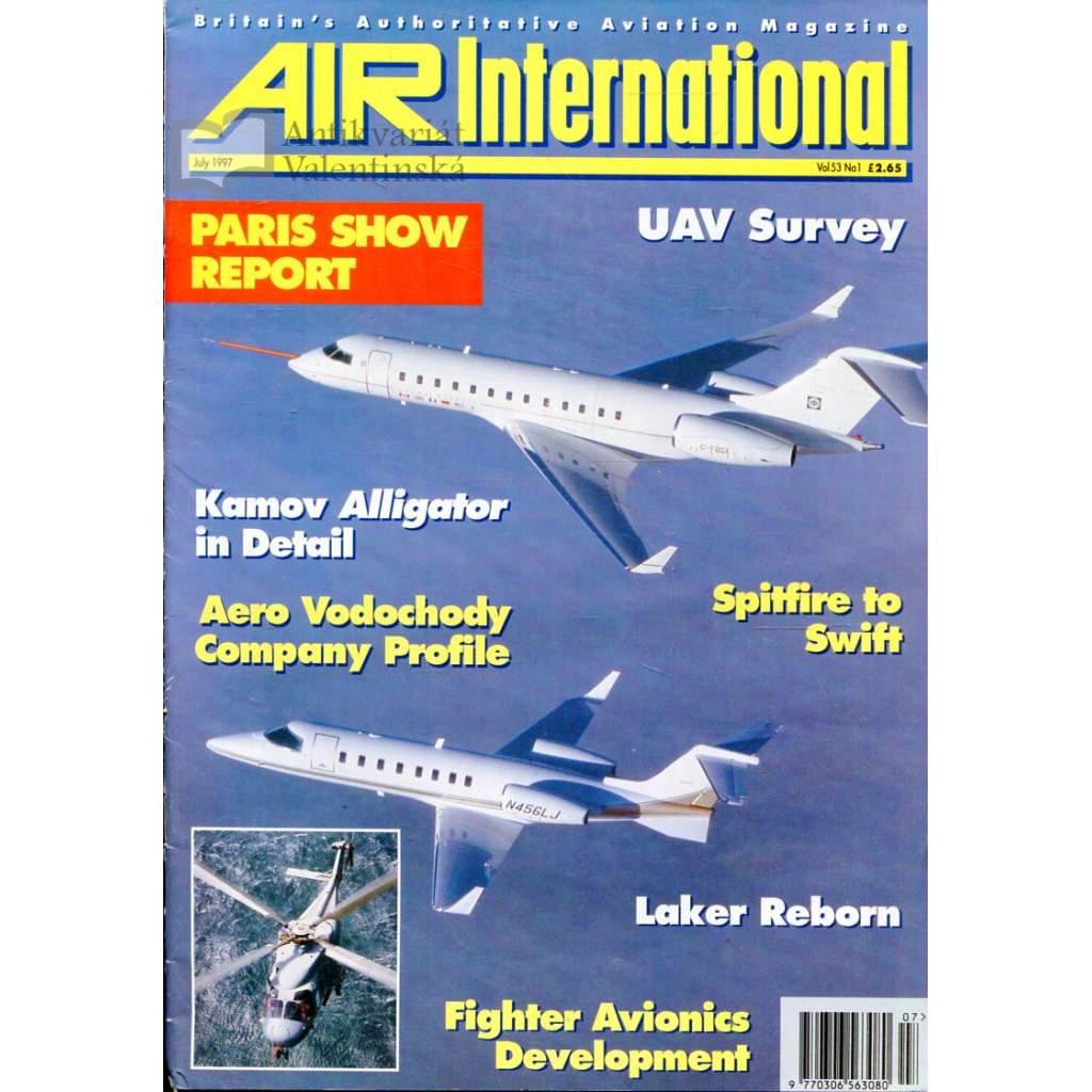 Air International 7/1997, Vol. 53, No. 1 (letectví, letadla)