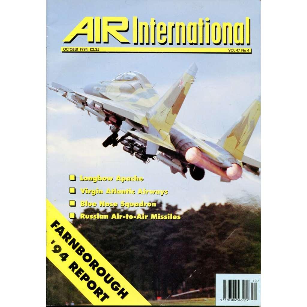 Air International 10/1994, Vol. 47, No. 4 (letectví, letadla)