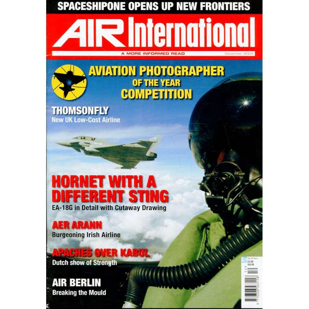 Air International 12/2004, Vol. 67, No. 6 (letectví, letadla)